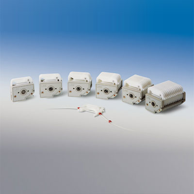 Peristaltic pump head DG Series